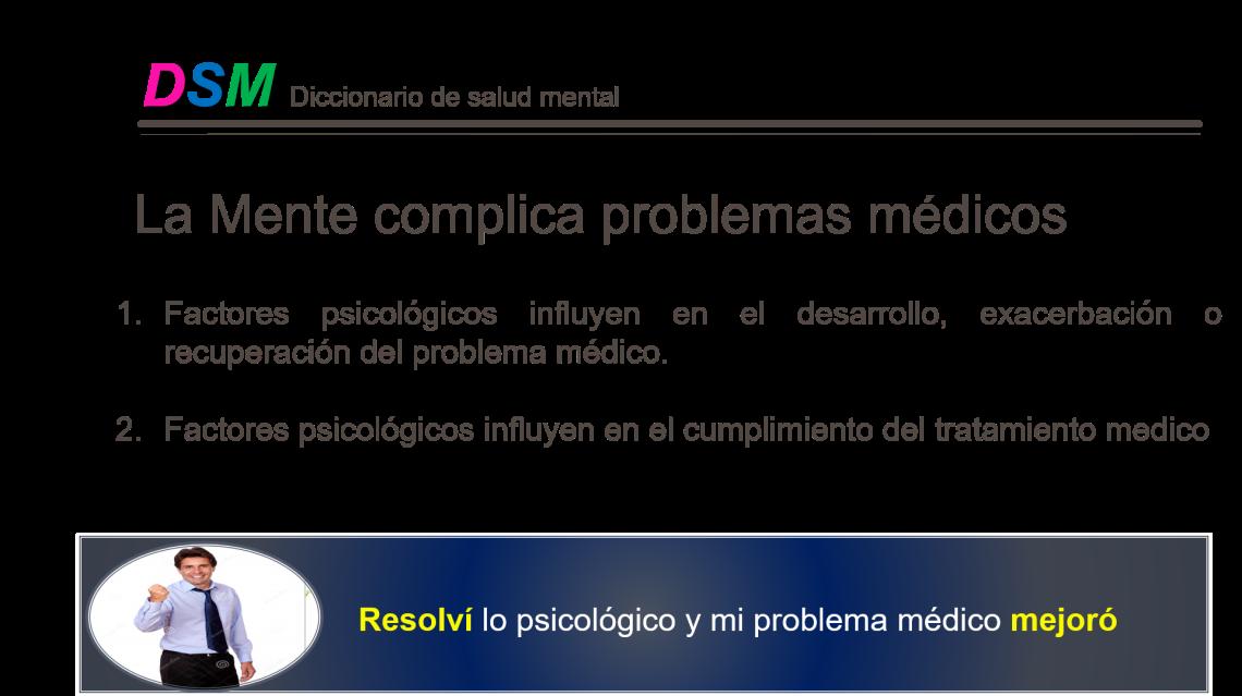 La mente complica problemas medicos